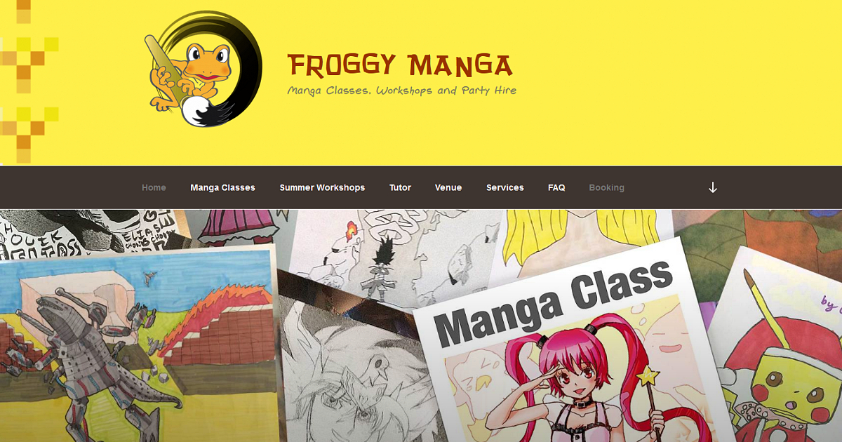 Froggy Manga classes