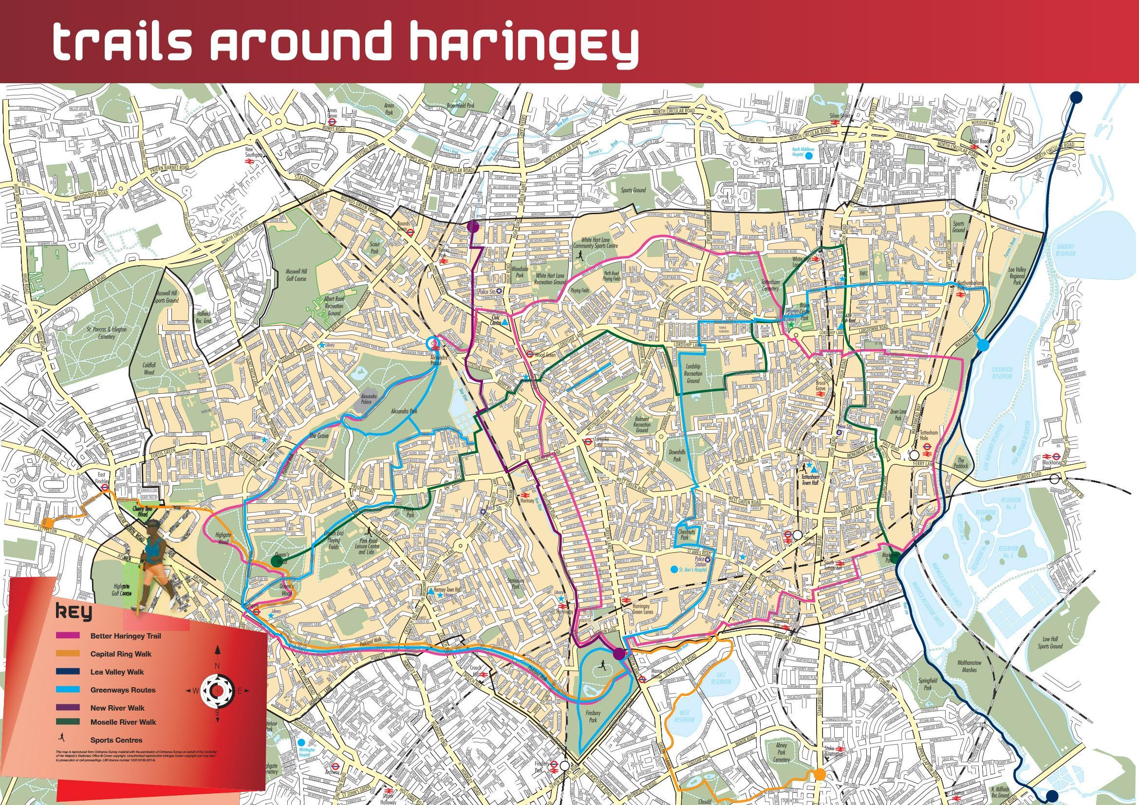 Walking   Haringey Council