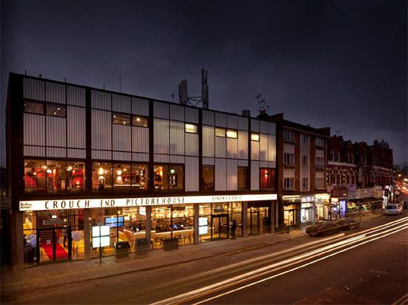 Crouch End Picture House, Tottenham Lane, N8, Panter Hudspith Architects, 2016 category award winner (architects' image)