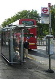 Image of a bus shelter