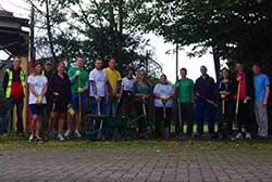 Volunteering in Down Lane Park by Martin Ball