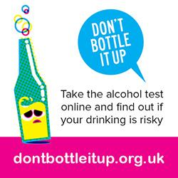 Don't Bottle it up - visit the website (external link)