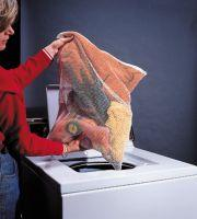 Laundry in mesh bag