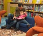 Family reading in Libraries