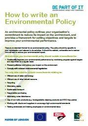 Environmental Policy Factsheet