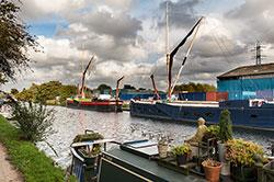 River Lee Navigation by Janusz Slyk