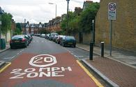 Image of 20mph zone