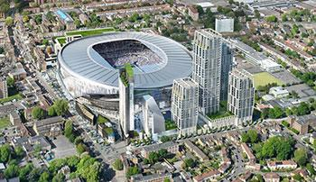 Tottenham hotspur football club stadium development haringey council tottenham hotspur football club were granted planning permission by haringey council in 2011 for the redevelopment of white hart lane stadium and the malvernweather Image collections
