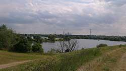 Walthamstow reservoir vista by C Miller/ All rights reserved