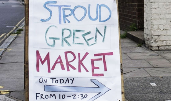 Stroud Green Market - every Sunday 10am-2.30pm
