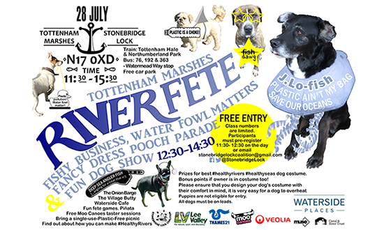 Tottenham Marshes River Fete - 28 July, 11.30am-3.30pm.