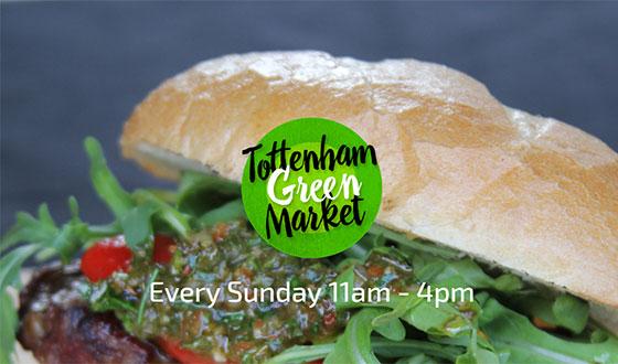 Tottenham Green Market - every Sunday 11am-4pm