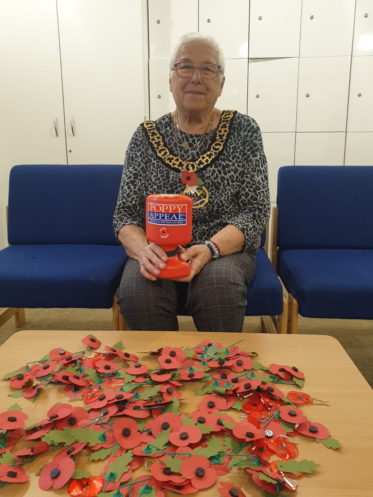 The Mayor of Haringey, Cllr Sheila Peacock, is calling on residents across the borough to support the Royal British Legion's Poppy Appeal