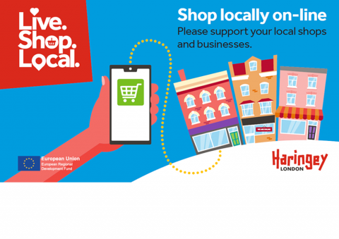 Live.Shop.Local campaign - Shop locally online. Please support your local shops and businesses.