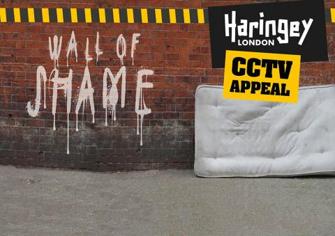 Wall of shame - CCTV appeal