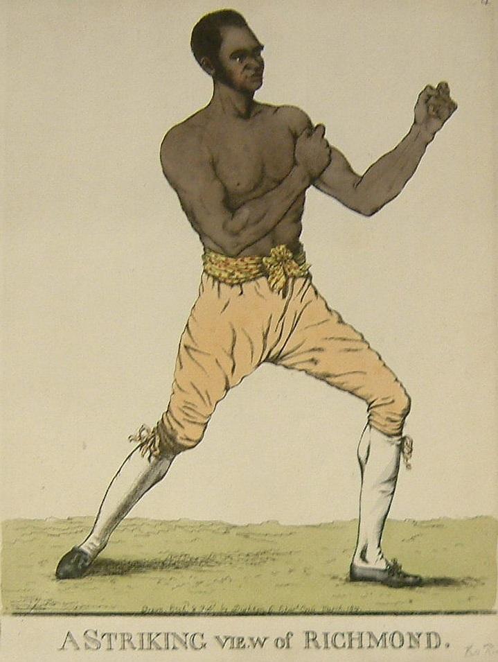 Bill Richmond, boxer (courtesy National Portrait Gallery)