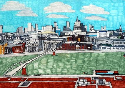 Hoffman Foundation for Autism, View of St Paul's