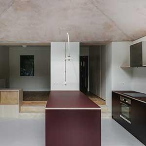 St James's Lane - photo of new kitchen interior ©MariellLindHansen