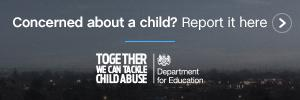 Concerned about a child? Report it here link.