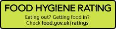 Food hygiene rating - Eating out? Getting food in? Check food.gov.uk/ratings