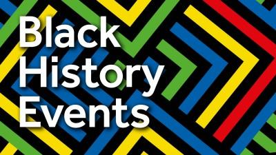 Logo for Black History Month events