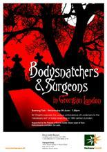 Bodysnatchers in Georgian London