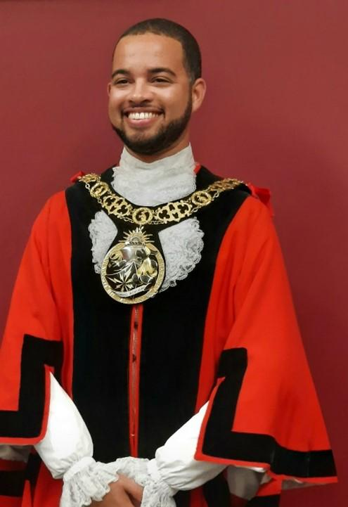 Councillor Adam Jogee, Mayor of Haringey for 2020/21