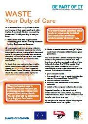 Duty of Care Factsheet