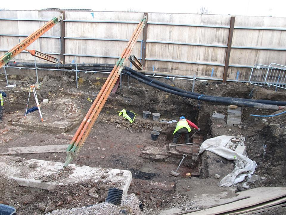 Excavation of Tottenham Mills by Pre-Construct Archaeology