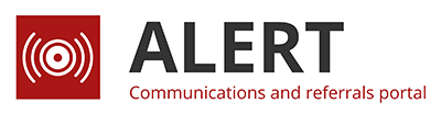 ALERT - Communications and referrals portal