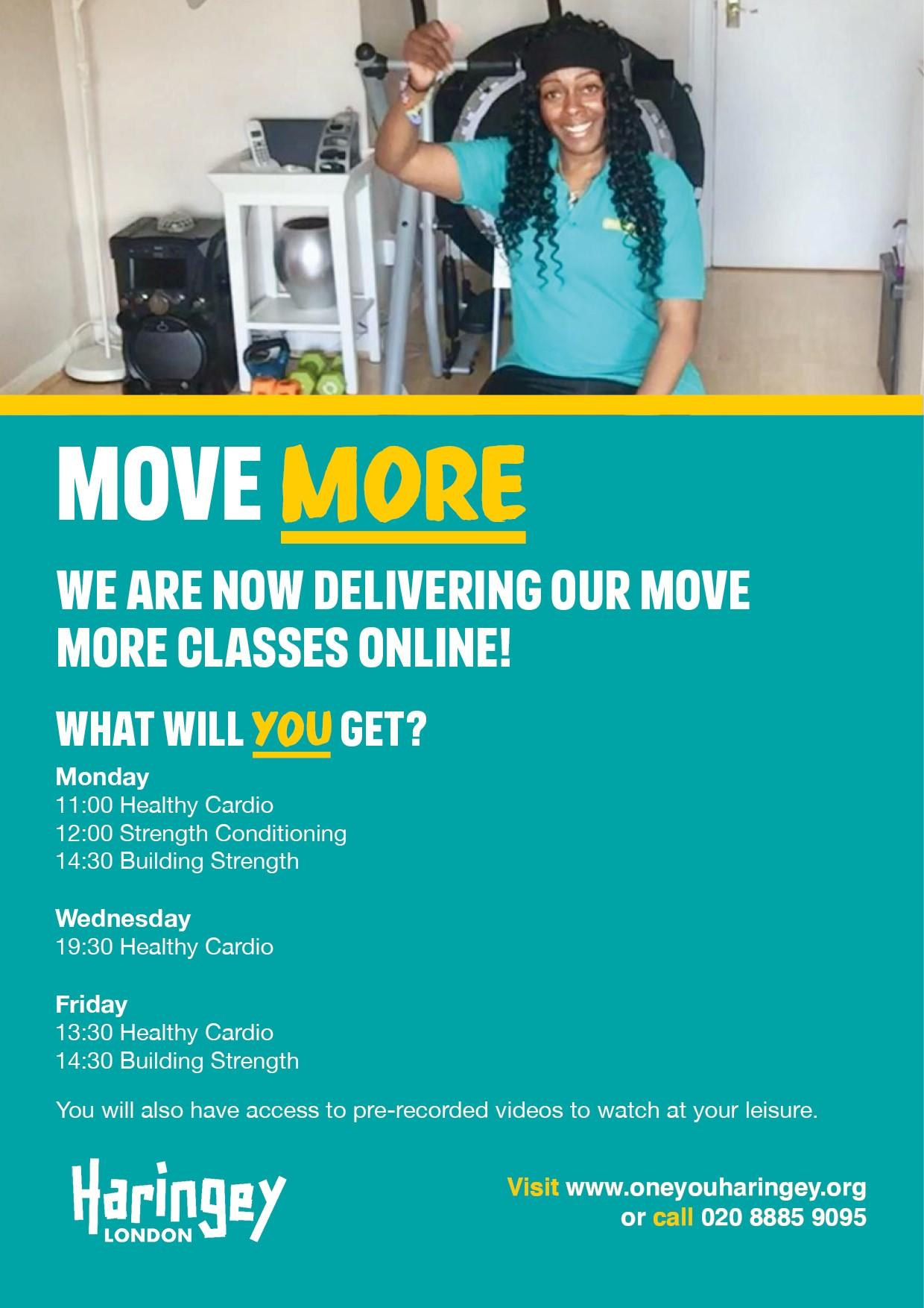 Move More Flyer