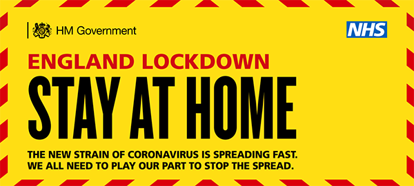 National lockdown - Stay at home