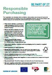 Responsible Purchasing Factsheet