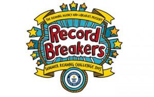Summer Reading Challenge Record Breakers logo