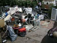 18 Sherringham Avenue N17 & 24 Sherringham Avenue N17 - Garden areas cleared of scrap metal