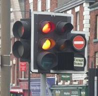 Photo of traffic light signal