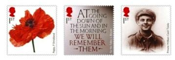 Royal Mail's Commemorative First World War Stamp